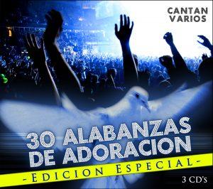 Las 30 Alabanzas De Adoracion (3CD's)