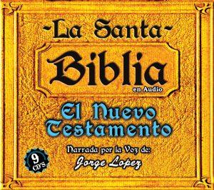 """La Santa Biblia """"El Nuevo Testamento"""" ( 9 CD's)"""