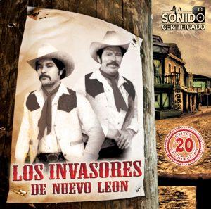Los Invasores de Nuevo Leon - 20 Exitos-0