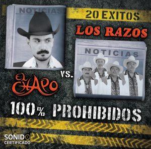 El Chapo vs Los Razos - 100% Prohibidos-0