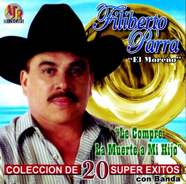 "Filiberto Parra ""Coleccion de 20 Super Exitos con Banda""-0"